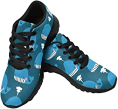 INTERESTPRINT Womens Running Sneakers Lightweight Breathable Athletic Tennis Shoes Size 6~Size 15