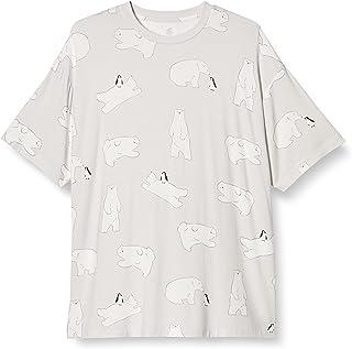 [ジェラート ピケ] 【COOL FAIR】【HOMME】しろくま柄Tシャツ PMCT212928 メンズ