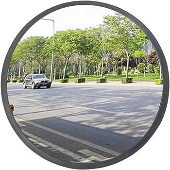 topwill Specchio convesso sicurezza specchio traffico vigilanza policarbonato convesso Specchio per sicurezza stradale 1 30cm