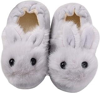 KVbaby Enfants Pantoufles Mignon Anti-dérapant Pantoufles/Mules pour Coton Semelle Souple pour Maison Chaussures Hiver Cha...