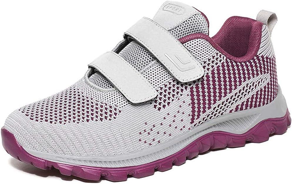 LEADER SHOW Women's Comfort Walking Shoes Tennis Flats Lightweig