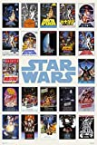 1art1 Star Wars - Locandine, Compilation Poster Stampa (91 x 61cm)