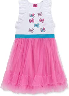 Girls JoJo Siwa Embellished Pink Tutu Dress