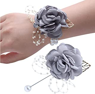 Best silver corsage and boutonniere Reviews