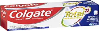 COLGATE Total Advanced Whitening Antibacterial Fluoride Whole Mouth Health Multi Benefit Toothpaste, 200 g