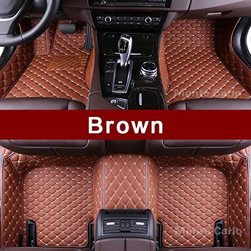 LUOLONG Vloermatten voor in de auto, op maat gemaakte vloermatten voor in de auto, speciaal voor Jaguar F-type F-Pace Xe Xf Xj Xjl Xk voor alle weersomstandigheden, vloerbedekking BRON