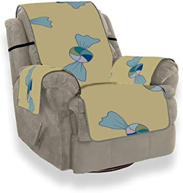 Doux Couleur de Mode Snack Candy Chair Housse de canapé inclinable Couvre-canapés Ensemble de Chaise de canapé Housse de Prot