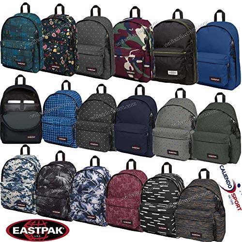 Backpack Eastpak Out Of Office Black Plucked 74R