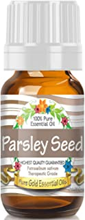 Pure Gold Parsley Seed Essential Oil, 100% Natural & Undiluted, 10ml