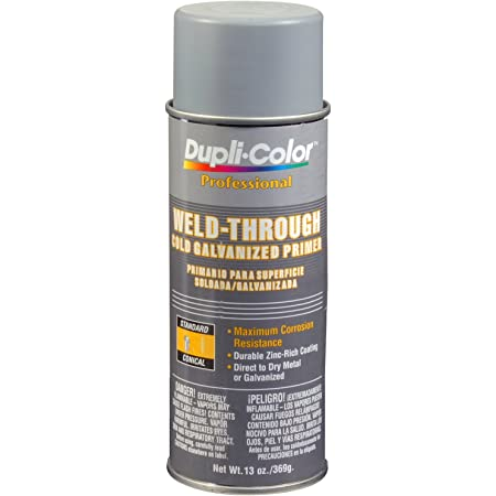 Packaging may vary Dupli-Color EDPP108 Weld Thru Cold Galvanizd Primer