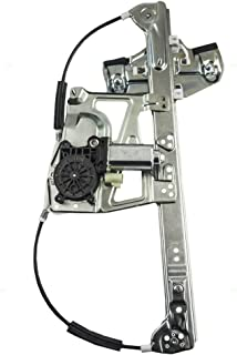 Power Window Lift Regulator with Motor Assembly Passenger Front Replacement for 00-01 Cadillac DeVille 17801303