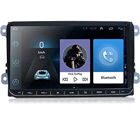 Autoradio Mit Navi 9 Zoll Touchscreen Monitor 9 1 Elektronik