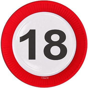 Folienballon Zahl Zum 18 Radiant Schwarz Pink Ballongruesse De