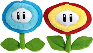 Super Mario Bros. Fire Flower Ice Flower Plush Soft Toy Stuffed Animal 6