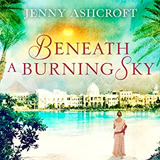 Beneath a Burning Sky audiobook cover art