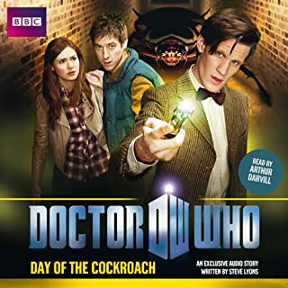 Doctor Who: Day of the Cockroach audiobook cover art
