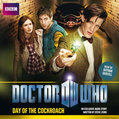 Doctor Who: Day of the Cockroach cover art