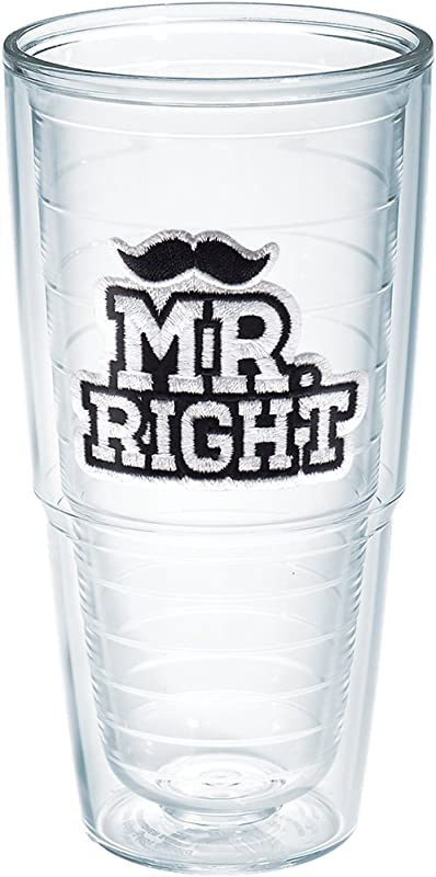 Tervis Mr Right 24oz Clear Tumbler