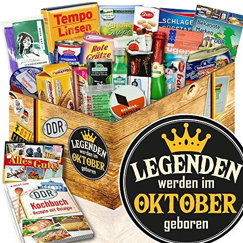 Legenden Oktober - Geschenk Oktober Geburtstag - DDR Artikel Spezialitäten
