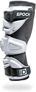 Epoch Lacrosse iD High Performance, Lightweight, Flexible, Molded, Lacrosse Arm Pads for Attack, Middie and Defensemen
