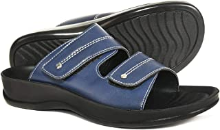 Orthotic Comfort Dual Strap Sandals and Flip Flops with Arch Support for Comfortable Walk