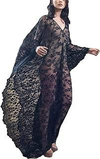 Women Sexy Lace Crochet Open Front Swimsuit Beach Long Kimono Cover Ups