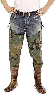 Xinwcang Pantalón de Pesca para Hombre Impermeable Ligeros,