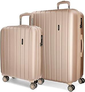 Wood Luggage Set, 65 cm, 111 liters, Beige