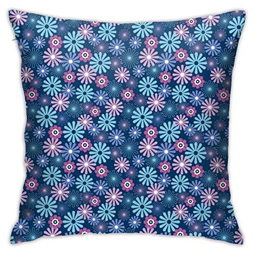 45x45cm Funda Throw Pillow Case Almohada Cojín Flor Fundas colchón Cojines Decorativa Cuadrado sofá