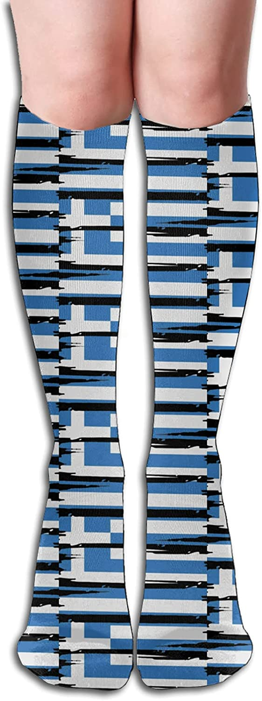 Greece Greek Flag Socks for Women Quantity limited Athletic Runnin Men 5 ☆ popular