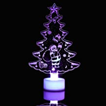 XYAN Decking Patio Lighting Christmas Tree LED Lights Night Light For Home Party Bar Wedding Festival Decorative Party Sup...
