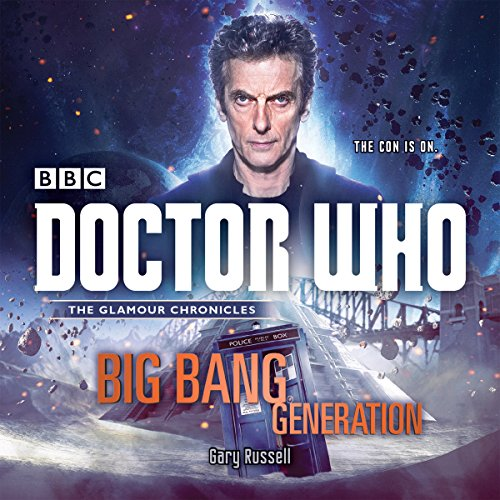 Doctor Who: Big Bang Generation     A 12th Doctor novel              De :                                                                                                                                 Gary Russell                               Lu par :                                                                                                                                 Lisa Bowerman                      Durée : 5 h et 40 min     Pas de notations     Global 0,0