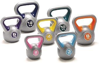 zhenxing Fitness Kettlebell, Ladies Kettlebell, Cast Iron Kettlebell, Easy Grip Weights for Total Body Fitness Training, 2...