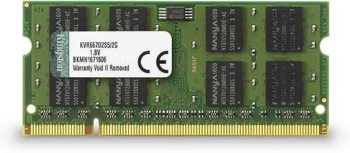 Kingston KVR(677D2S5/2G - Memoria RAM de 2 GB (677 MHz DDR2 Non-ECC CL5 SODIMM, 200-pin, 1.8V)
