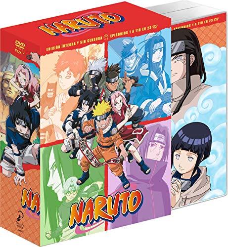 Naruto - Episodios 1 a 110 (BOX 1) [DVD]