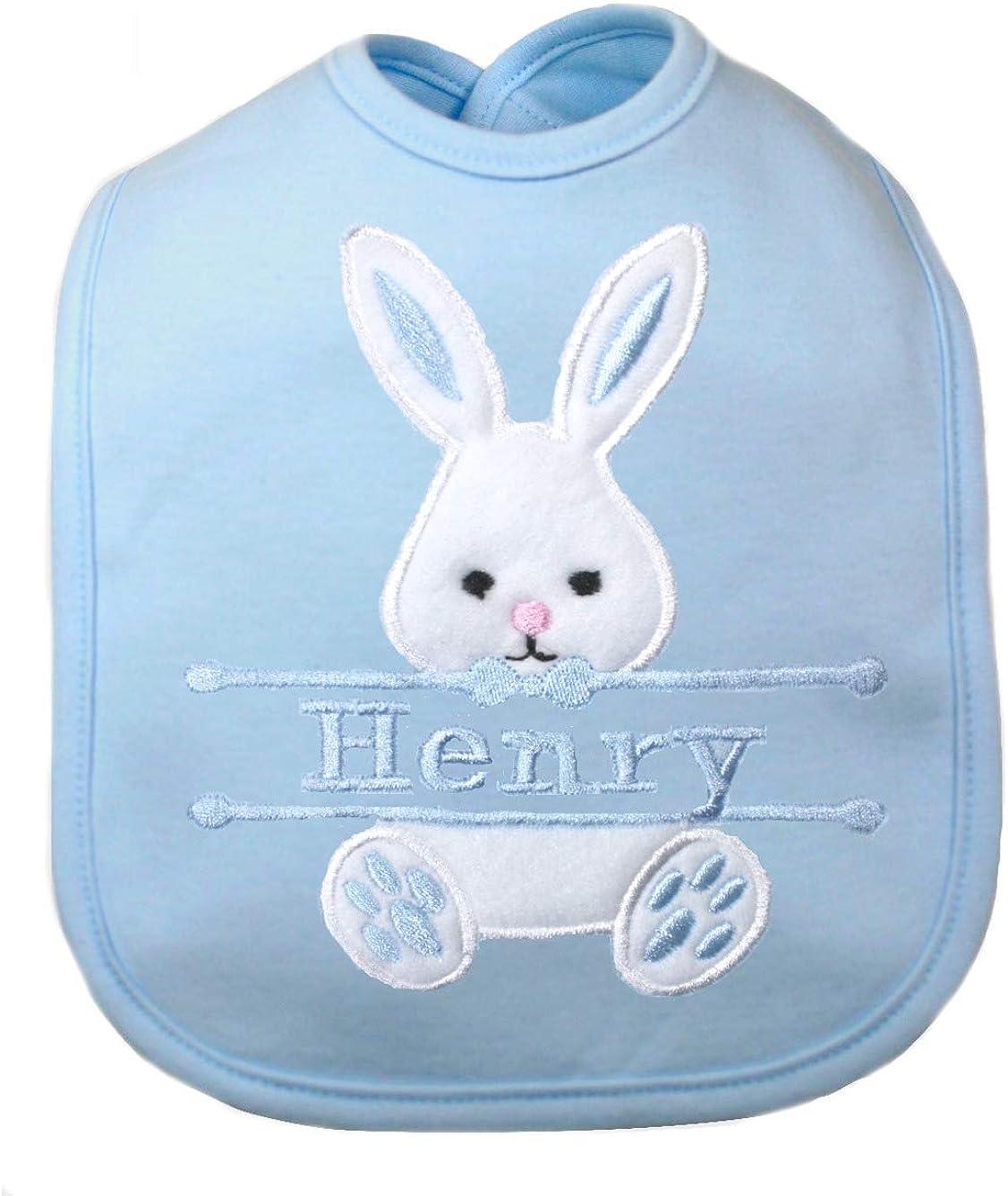 Personalised Peter Rabbit 1st Easter Baby Bib 1st Easter a perfect baby gift Easter Gift