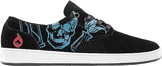 Emerica Men The Romero Laced X Avett Black Teal Shoes Size