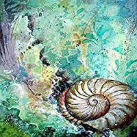 Carolines Treasures PJC1037CHF The Treasure Of The Surf Shell Flag Canvas House Size