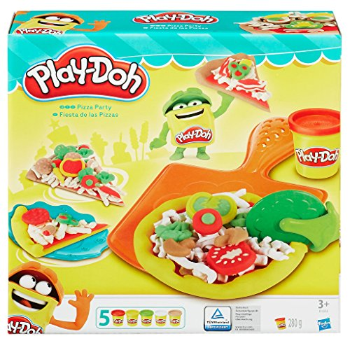Play-Doh - Kit Fiesta de Pizza (Hasbro B1856EU4)