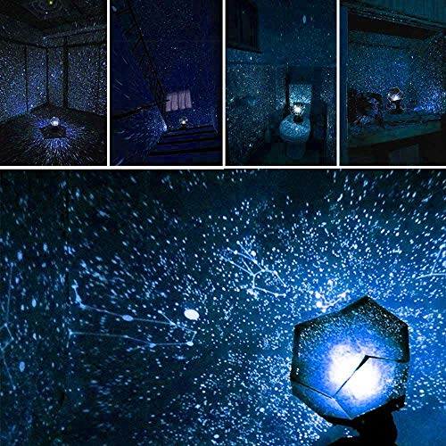 Goglor Star Lamp Projektor, Fantasy Sky Map Projektor Cosmos Romance Licht Lampe