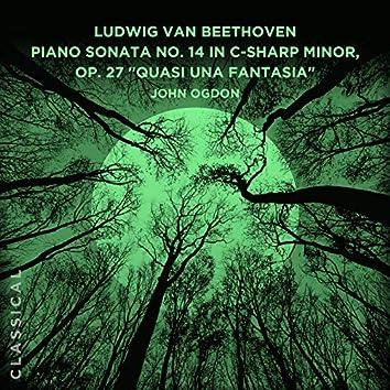 "Ludwig van Beethoven: Piano Sonata No. 14 in C-sharp Minor, Op. 27 ""Quasi una fantasia"" - ""Moonlight Sonata"""