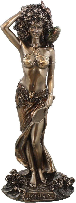 9.5 Inch Los Angeles Mall Statue Superlatite Orisha Oshun Yoruba Santeria Ochu Lucumi Estatua