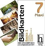 Bildkarten 7 -Maxi- Basics 1 - (Fotokarten in Postkartengröße / etwas schmaler) - ideal in der Biografiearbeit, Sprachförderung, Pädagogik, Therapie, Altenpflege, Geriatrie und Heimbetreuung -