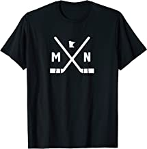 Vintage Minnesota Ice Hockey Sticks T Shirt