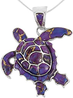 Best turquoise turtle necklace Reviews