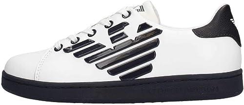 Emporio armani sneaker ragazzo in pelle XSX006 XCC53