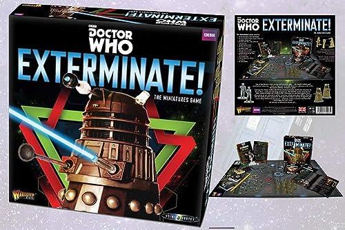 Doctor Who Exterminate - In der Zeit Vortex Miniatures Game - Daleks und Cybermen