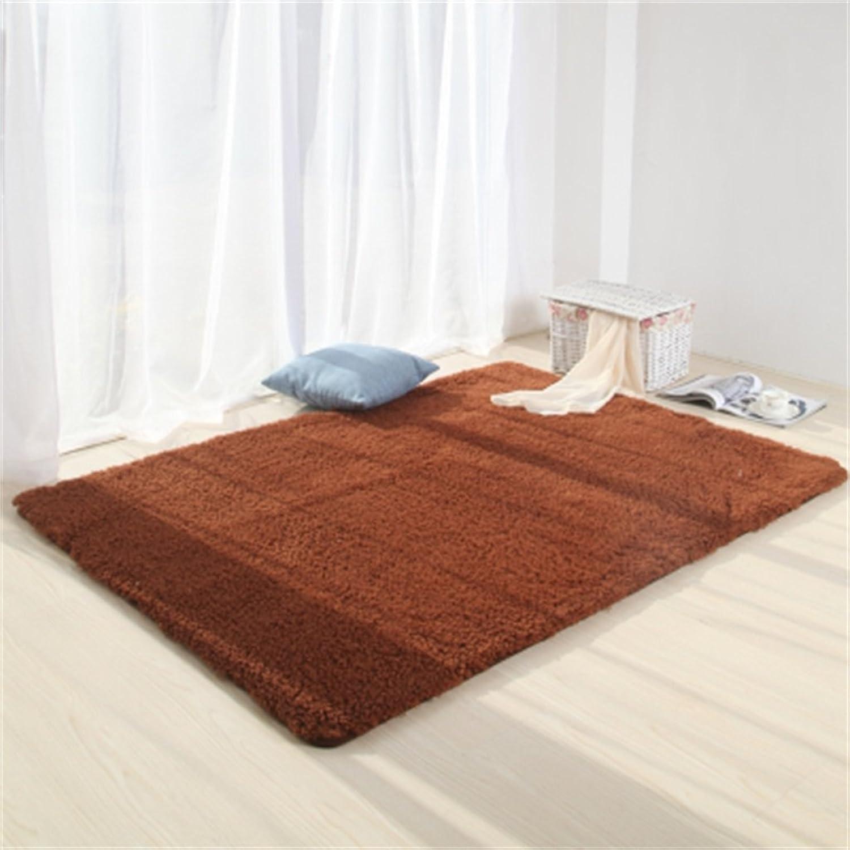 autorización HZZ-alfombra Manta de la Cama del Dormitorio Sala de de de Estar Simple Mesa de la Sala de la Alfombra del café (Color    2, Tamao   0.8  2m)  últimos estilos