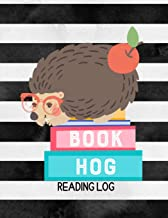 Book Hog Reading Log: Hedgehog Kids Reading Notebook with Wish List, Log, & Book Summary Sheets |Gifts for Book Lovers