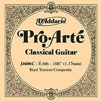 D'Addario ダダリオ クラシックギター用バラ弦 プロアルテ E-6th J4606C Composites 【国内正規品】